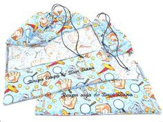 Kit saquinhos: roupa limpa e roupa suja*