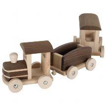 Stor Tåg i Trä, Bern - Goki Nature - Paddington's Leksaker Wooden Toy Train, Wooden Toy Cars, Wood Toys, Diy Wooden Projects, Wood Crafts, Kiesel, Woodworking Workshop, Classic Toys, Diy Toys