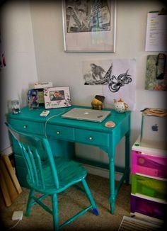 Ethan Allen vintage desk.. Almost finished