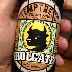 Ok this is my other favourite,  amazing on the handpump, pretty decent in the bottle. #holgate #goodbeer #goodbeerinhand #instabeer #craftbeer #beer #porter #chocolate