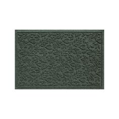 WaterGuard Fall Day Indoor Outdoor Mat, Green