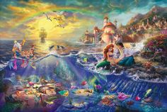 Kinkade Disney World-Little-Mermaid