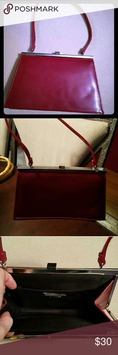 Express bag Red brand new never used 9 1/2 inches in length Express Bags