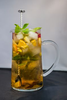 White Sangria @Wine & Bread Portuguese Restaurant - Cafe - Tapas Bar
