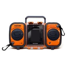 Rugged and Waterproof Stereo Boombox   whatgiftshouldiget.com