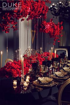 Red and Purple Wedding Ideas to Consider – MyPerfectWedding Red Silver Wedding, Burgundy Wedding, Rose Wedding, Wedding Flowers, Dream Wedding, Wedding Reception Backdrop, Wedding Centerpieces, Wedding Decorations, Wedding Themes