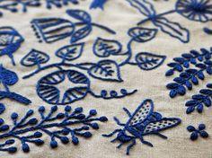 Modern Embroidery by Vitamini, via Flickr