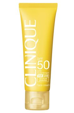 Clinique 'Sun' Broad Spectrum SPF 50 Face Cream available at #Nordstrom