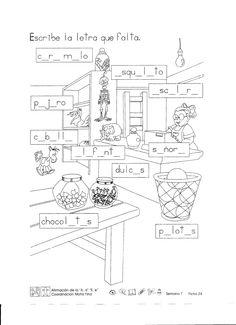 """Afirmación de la """"A"""", """"a"""" """"E"""", """"e"""" coordinación motriz fina 1er Grado"""