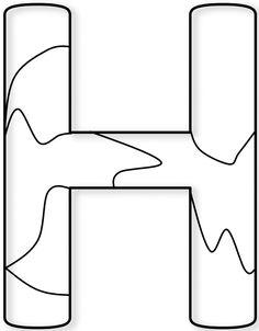 Puzzle Piece Template, Alphabet Fonts, School Clipart, School Bulletin Boards, Wooden Puzzles, I School, Puzzle Pieces, Grammar, Cricut
