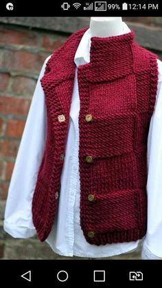Knitting Stitches, Knitting Designs, Baby Knitting, Knitting Patterns, Knitting Needles, Free Knitting, Cardigans For Women, Jackets For Women, Gilet Crochet