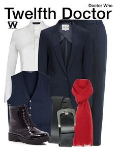 """""""Doctor Who"""" by wearwhatyouwatch ❤ liked on Polyvore featuring Nicole Farhi, Polo Ralph Lauren, Reiss, Linea, Pieces, River Island, television and wearwhatyouwatch"""