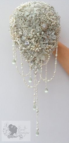 Vintage inspired 1920's Hollywood Glamour beaded by TiaraBoutique, LOVE!!!
