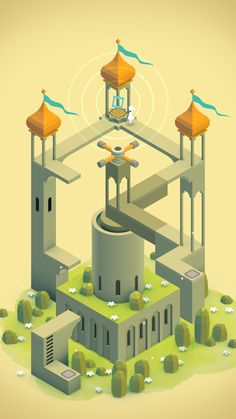 Monument Valley ★ Find more nerdy #iPhone + #Android #Wallpapers and #Backgrounds at @prettywallpaper