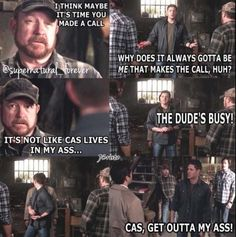 died laughing #yaydestiel