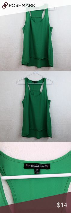 3/$15 • Wishful Park Tank Top Polyester tank top by Wishful Park. Size medium. EUC. Perfect for spring & summer! Wishful Park Tops Tank Tops