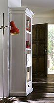 Belgravia Painted Tall Narrow Bookcase with Drawer £497.30