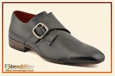 The men's monk style shoe.