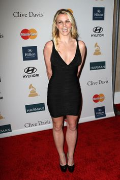 Britney Spears, Kim Kardashian at Clive Davis Pre-Grammy Gala