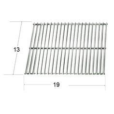 shop heavy duty bbq parts porcelain steel wire cooking grid for arkla brand gas grills at loweu0027s canada find our selection of bbq - Char Broil Gas Grill Parts