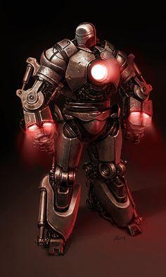 #Iron #Man #Fan #Art. (Iron-Monger) By: Ryan Meinerding. (THE * 5 * STÅR * ÅWARD * OF: * AW YEAH, IT'S MAJOR ÅWESOMENESS!!!™)[THANK Ü 4 PINNING!!!<·><]<©>ÅÅÅ+(OB4E)