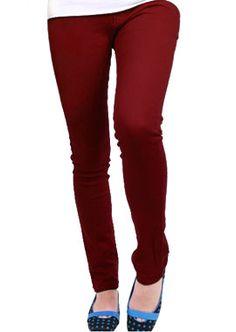 ron burgundy skinny jeans