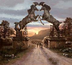 Vaes Dothrak concept art  - game-of-thrones Photo