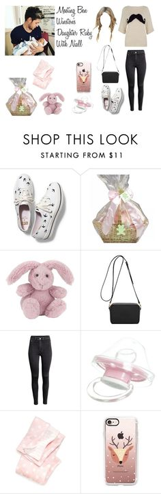 """""""Meeting Ben Winston's Daughter Ruby With Niall"""" by tayler-dukes ❤ liked on Polyvore featuring Keds, Jellycat, Mulberry, H&M, Giorgio Armani, Casetify, OneDirection and NiallHoran"""