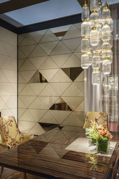 Best Place to find hotel lobby design Hotel Lobby Design, Lobby Interior, Interior Design, Wall Panel Design, Wall Treatments, Cool Walls, Ceiling Design, Modern Decor, Planer