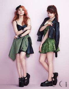 4Minute - Ceci Magazine April Issue '14 #4minute #so hyun #ji hyun