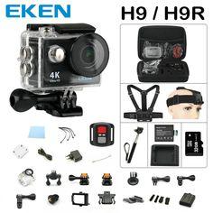 >> Click to Buy << Action camera Original EKEN H9 / H9R remote Ultra FHD 4K WiFi 1080P 60fps 2.0 LCD 170D sport go waterproof pro camera deportiva #Affiliate