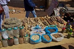Local medicines, Soweto, South Africa.
