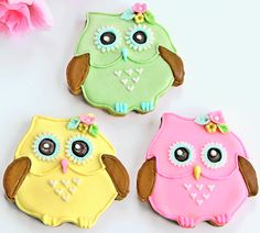 Dainty Owl Cookies :)