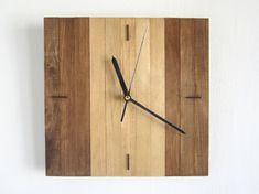 Cuadrado de madera de nogal y roble nogal de madera del por Paladim