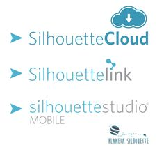 Silhouette Cloud, Silhouette Mobile y Silhouette Link
