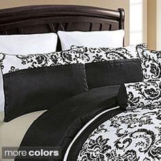 VCNY Daniella Flocked 8-piece Comforter Set