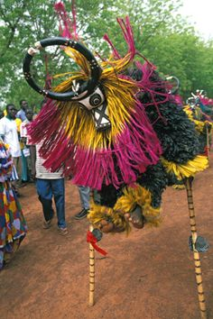 With such a rich amount of culture from Burkina's more than 60 ethnic groups, you know the country is teeming with festivals. Between mask dances to music and the international arts and crafts fair, planning your trip to coincide with one should be a given.