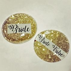 Bride Tribe Sparkly Pins Bachelorette Party Hen Night