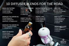 Diffuse recepts for drivers
