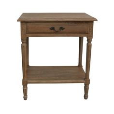 French Weathered Oak Side Lamp Table made from Solid Oak http://www.la-maison-chic.co.uk/side-occasional-tables/french-weathered-oak-side-lamp-table--French_Weathered_Oak_Side_Lamp_Table.html
