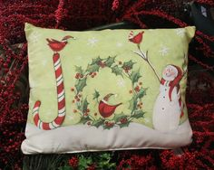 It's our all-new collection of indoor/outdoor pillow designs from the gift shop at The Barn Nursery, Chattanooga, TN  Exit 181 101914