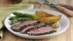 Rosemary Garlic Rubbed Steak