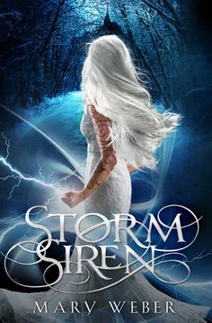STORM SIREN book cover for my debut trilogy with Thomas Nelson HarperCollins!! #YAbooks #bookcovers #fantasy