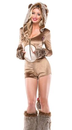 Lucky Lioness Costume, Sexy Lion Costume, Lion Halloween Costume