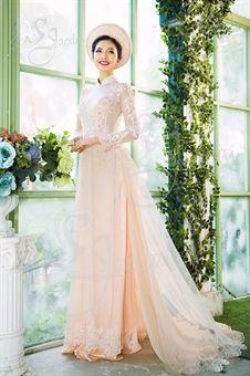 Wedding dress- Vietnamese long dress