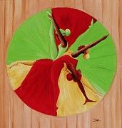 African American Art - Dance Circle by Ikahl Beckford