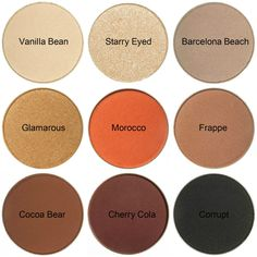 Dupes for Kylie Cosmetics' The Bronze Palette kyshadow Makeup Geek Eyeshadow, Skin Makeup, Eyeshadow Pans, Contour Makeup, Eyeshadows, Natural Lashes, Natural Makeup, Natural Contour, Beauty Dupes