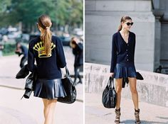 Paris Fashion Week SS 2015....Marta