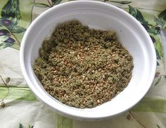 appelsiinejahunajaa: Zaatar-maustesekoitus