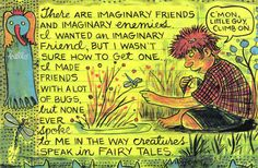 The Comics Journal Lynda Barry, Classic Comics, Magazine Art, Fairy Tales, Creatures, Journaling, Artist, Seeds, Cartoons